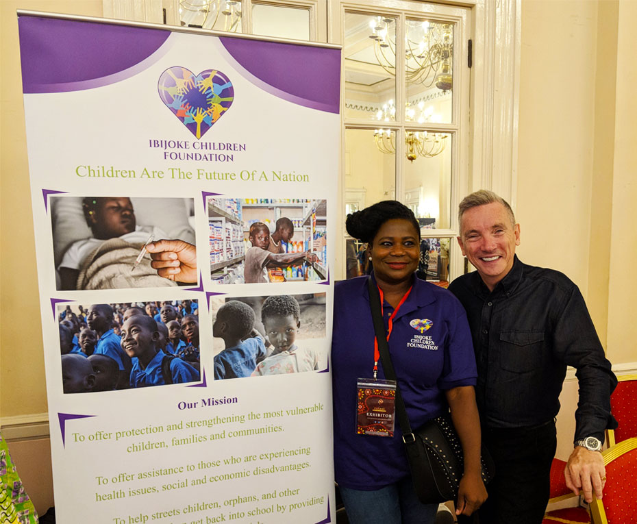 IBIJOKE CHILDREN FOUNDATION AT PASSION FOR AFRICA FASHION HELD AT BRITANNIA ADELPHI HOTEL, 18TH OF AUGUST 2018 AT LIVERPOOL CITY